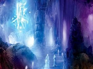 cave-fantasy-art-person-walking-wallpaper